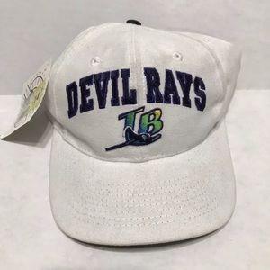 Vintage 90s Tampa Bay Devil Rays NWT Snapback